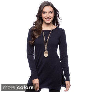 Ply Cashmere Women's Long-sleeve Tunic