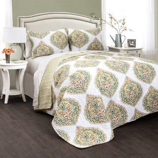 Lush Decor Sylvia 3-piece Quilt Set