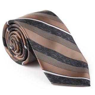 Van Heusen Men's Silk Touch Microfiber Stripe Tie