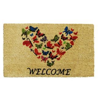 Butterfly Welcome Doormat (1'5 x 2'5)