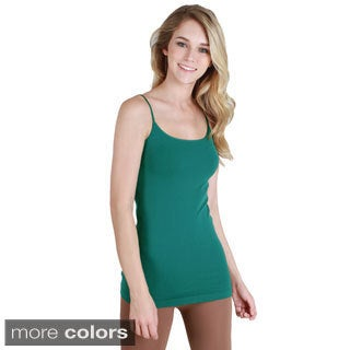 Nikibiki Seamless Signature Long Camisole Top with Color Choices