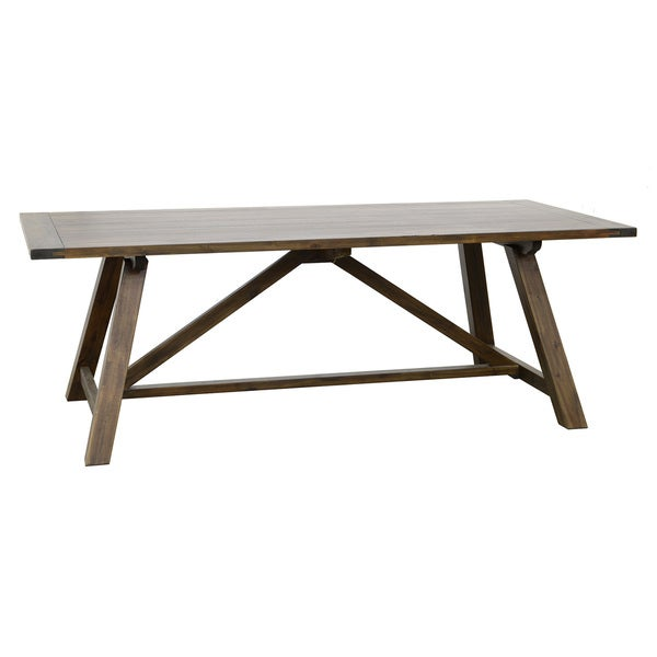 Aubrey 86 Inch Dining Table Overstock Shopping Great Deals On