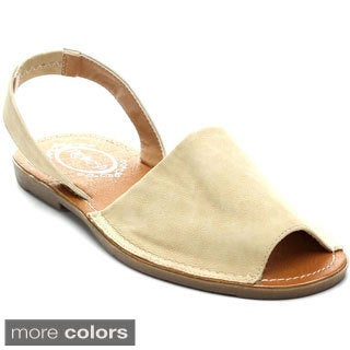 Refresh CLORI-01 Women's Slingback Slip-on Flats