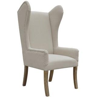 Vera Beige Linen Arm Chair
