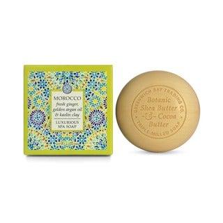 Greenwich Bay Trading Co. Fresh Ginger/ Argan Oil/ Kaolin Clay Exfoliating Spa Soap (Set of 2)
