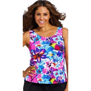 Beach BelleBora Bora Women's Plus Size Tankini Top