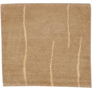 Herat Oriental Indo Tibetan Beige/ Ivory Wool Rug (2' x 2')