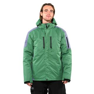 Pulse Men's Green Carbon Crest Insulated Jacket