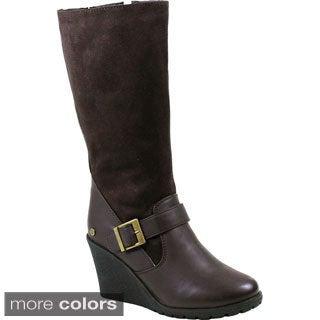 Reneeze JESSICA-01 Women's Warm Mid-calf Foldable Boots