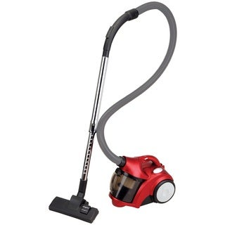 Ovente ST2500R Red Bagless Cyclonic Vacuum