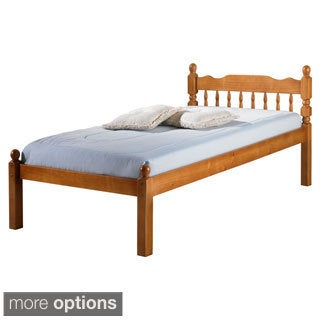 Palace Imports Chester Twin Turned Spindle and Post Platform Bed