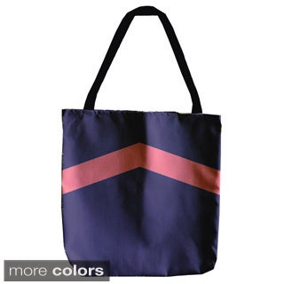 Solid and Geometric Arrow 18-inch Tote Bag