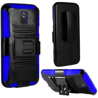 INSTEN Dual Layer Hybrid PC/ Soft Silicone Holster Phone Case Cover For Motorola Moto X 2nd Gen