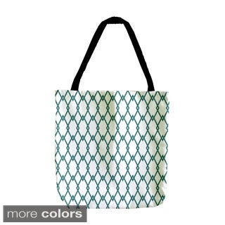 18-inch Holiday Christmas Geometric Tote Bags