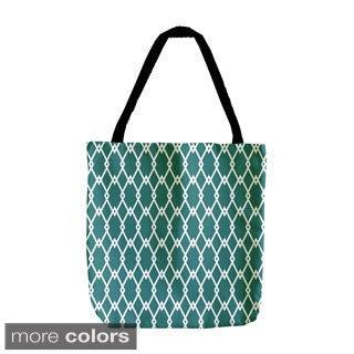 18-inch Holiday Geometrics Diamond Tote Bags