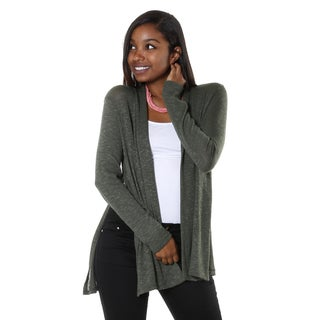 Hadari Women's Lightweight Knit Open Cardigan