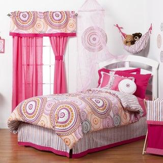 Girls' Paisley Sophia Lolita 4-piece Comforter Set