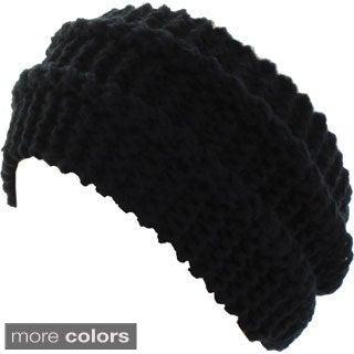 Kate Marie 'Dina' Cable Knit Headband Beanie
