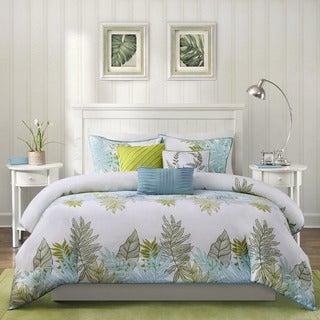 Madison Park Palomar 6-piece Cotton Printed Duvet Cover Set