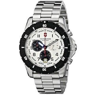 Victorinox Swiss Army Men's 241681 'Maverick Sport' Chronograph Stainless Steel Watch