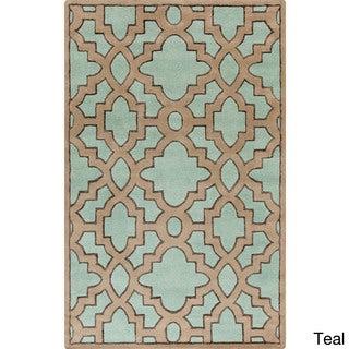 Candice Olson :Hand-Tufted Schmit Geometric Indoor Rug (5' x 8')