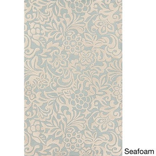 Candice Olson :Hand-Tufted Sidney Floral Pattern Rug (9' x 13')
