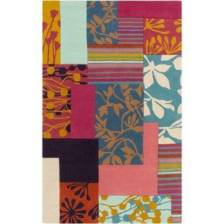 Harlequin :Hand-Tufted Julius Floral Pattern Rug (9' x 12')