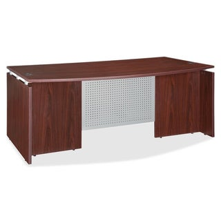 Lorell Ascent Bowfront Desk Shell