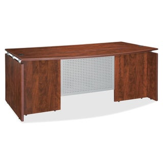 Cherry Lorell Ascent Bowfront Desk Shell