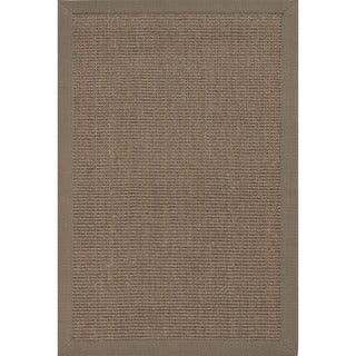 Naturals Solid Pattern Brown (8x10) - NSP01 Area Rug