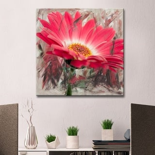 Ready2hangart Alexis Bueno 'Painted Petals XLIII' Canvas Wall Art