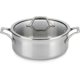 Calphalon AccuCore Stainless Steel 5-quart Dutch Oven with Cover