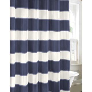 Nautica Guardhouse Stripe Cadet Shower Curtain
