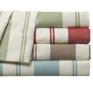 Havana Cabana 350 TC Stripe Cotton-Rich Sheet Set