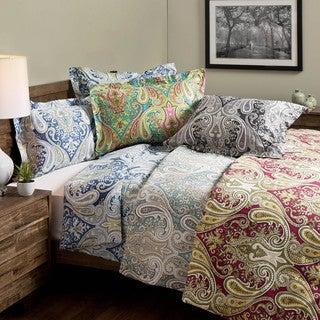 Crystal Palace 100-percent Cotton Print 3-piece Duvet Set