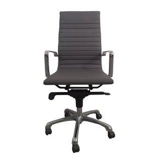 Aurelle Home 'Travis' High Back Grey Office Chair (Set of 2)