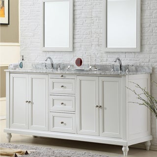 direct vanity 70 inch classic pearl white double vanity sink cabinet