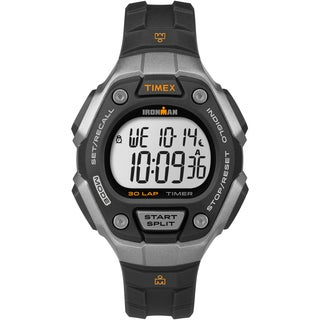 Timex Women's Ironman Classic 30 Black/ Silvertone Watch