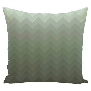 Chevron Stripes 16-inch Square Decorative Pillow