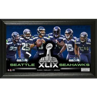 Seattle Seahawks Super Bowl 49 Team Force Panoramic Photo