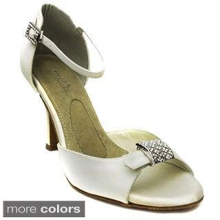 Angela Nuran 'Parisienne' High Heel Wedding Shoes