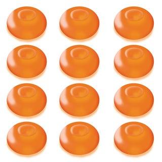 Floating Orange Battery Operated LED Light (Pack of 12)
