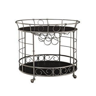 Bombay Outlet Naples Oval Serving Cart