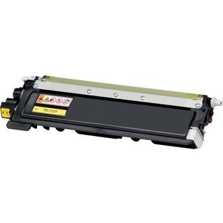 eReplacements Compatible Yellow Toner for Brother TN210Y