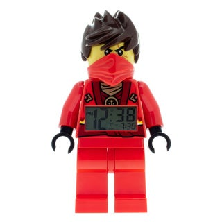 LEGO NINJAGO Kai Kid's Moveable Minifigure Alarm Clock
