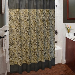 Sherry Kline Findlay Shower Curtain and Hook Set