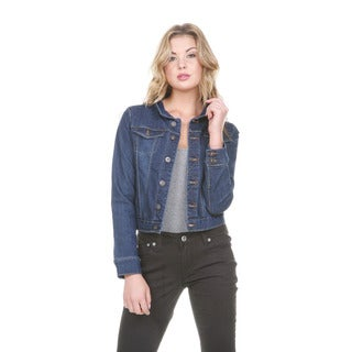 Stanzino Women's Long Sleeve Denim Jacket