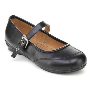 Cherish Women's 'Express-2' Black Mary Jane Flats