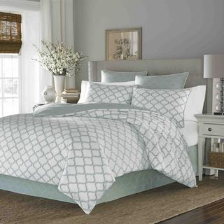 Stone Cottage Savannah 100-percent Cotton Sateen Duvet Cover Set with Euro Sham Separates
