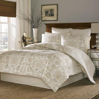 Stone Cottage Belvedere 100-percent Cotton Sateen Duvet Cover Set with Euro Sham Separates